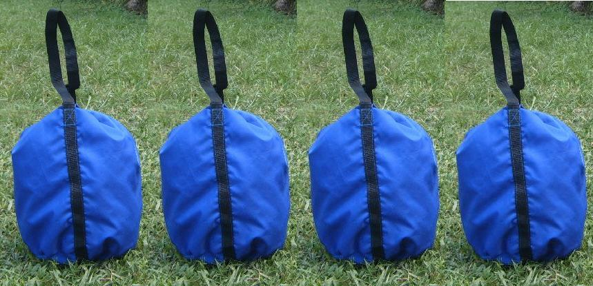 Most tunnel anchor bags cost 6 times the price of these bags. Can also be used to anchor your Easy Up and tent poles using sand rock water jugs etc. & Economy Dog Agility Sand Bag Equipment Anchors Weight Bags Tunnel ...